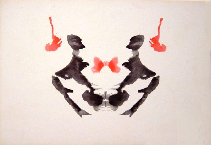 Rorschach test cards