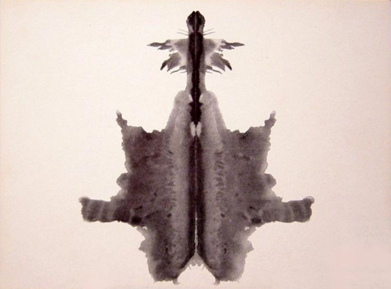 The first 10 cards in the rorschach inkblot test - Psicologia tavole di rorschach ...