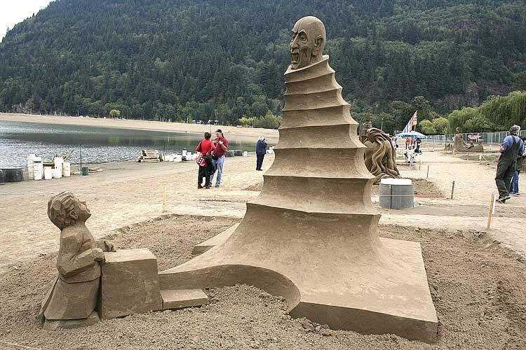 Lo que se puede hacer con arena y con tiempo alpedo